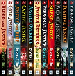 All books in Rayven T. Hill's Jake and Annie Lincoln mystery books series available in eBook or Trade Paperback formats.